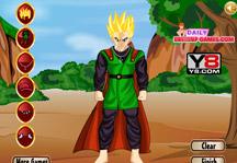 Gohan Training Dress Up Gameplay