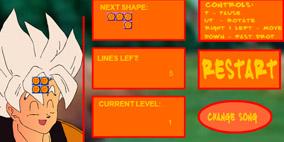 Dragon Ball Z Tetris