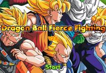 Dragon Ball Fierce Fighting 2.8 Title Screen