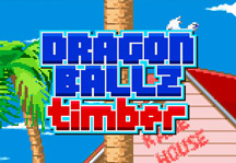 Dragon Ball Z Timber Title Screen