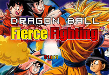 Dragon Ball Fierce Fighting 1.5 Title Screen