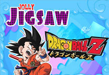 Jolly Jigsaw Dragon Ball Z Title Screen
