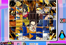 Dragon Ball Z Rotate Puzzle Gameplay