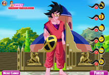 Goku Dress Up 2 Gameplay