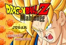 Dragon Ball Z Mahjong Title Screen