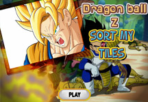 Puzzle Dragon Ball Title Screen