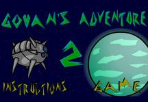 Gohan's Adventure 2 Title Screen