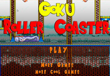 Goku Roller Coaster Title Screen