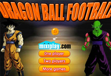 Dragon Ball Football Title Screen