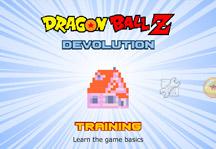 Dragon Ball Z Devolution 1.2.3 Title Screen