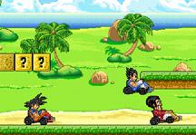 Dragon Ball Kart Gameplay