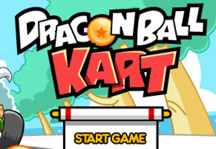 Dragon Ball Kart Title Screen