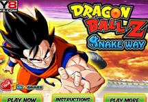 Dragon Ball Z Snakeway Title Screen