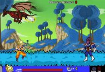 Dragon Ball Planet Namek Gameplay