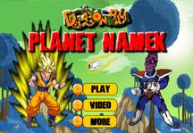 Dragon Ball Planet Namek Title Screen