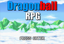 Dragon Ball RPG Episode 1 Title Screen