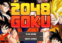 2048 Goku Title Screen