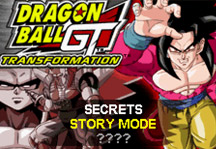 Dragon Ball GT Transformation Title Screen