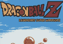 Dragon Ball Z Legendary Super Warriors Online Title Screen
