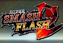 Super Smash Flash 2 Title Screen