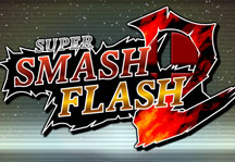 Super Smash Flash 2 1.0.3 Title Screen