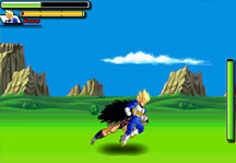 Dragon Ball Z Battle Gameplay