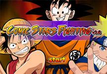 Comic Stars Fighting 3.6 Title Screen