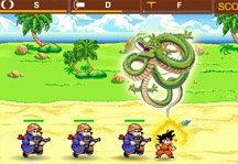 Dragon Ball Defense Gameplay