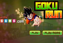Goku Run Title Screen