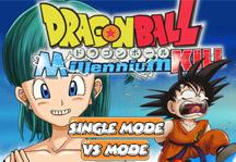 Dragon Ball Millenium Kill Title Screen