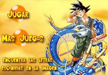 Dragon Ball Hidden Letters Title Screen