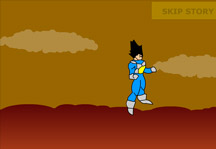 Dragon Ball Z Escape from planet Vegeta Gameplay