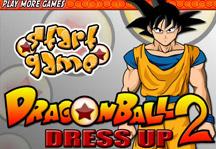 Dragon Ball Dress Up 2 Title Screen