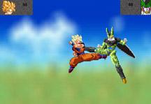 Goku vs Cell Gameplay