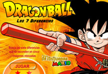 Dragon Ball 7 Differences Title Screen