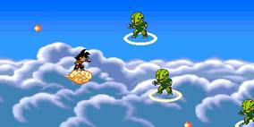 Dragon Ball Z Saibamen Attack