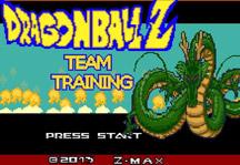 Dragon Ball Z Team Training Title Screen