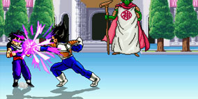 Dragon Ball Z Mugen Budokai Action