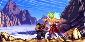 Dragon Ball Z vs Street Fighter III