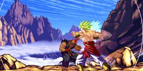 Dragon Ball Z vs Street Fighter III
