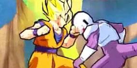 Super Goku Saiyan Fighting