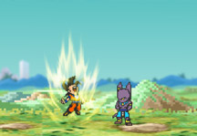 Dragon Ball Z Ultimate Power 2 Gameplay