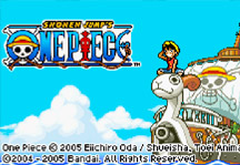 One Piece Game Title Screen