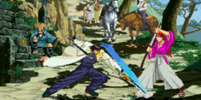 Rurouni Kenshin Mugen Game
