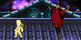 Naruto vs Luffy Fighting