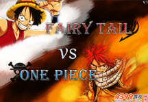 Fairy Tail vs One Piece 1.1 Title Screen