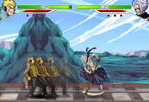 Fairy Tail Fighting Game Gameplay