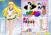 Sailor Moon Dress Up Gameplay