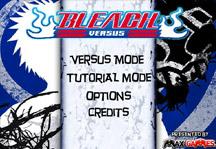 Bleach Versus Title Screen