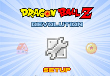 Dragon Ball Z Devolution 1.0.1 Title Screen